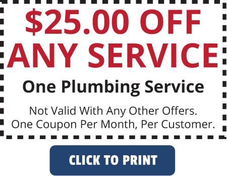 Quality Plumbing Coupon $25 Off Any Service